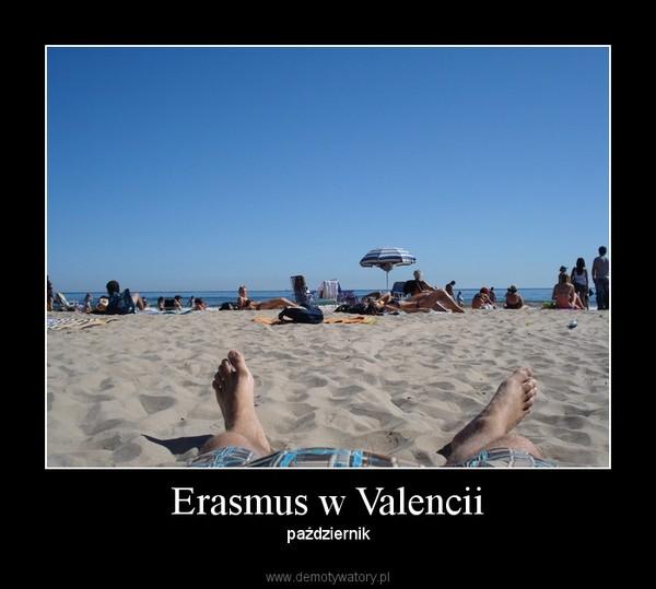 Erasmus w Valencii – październik