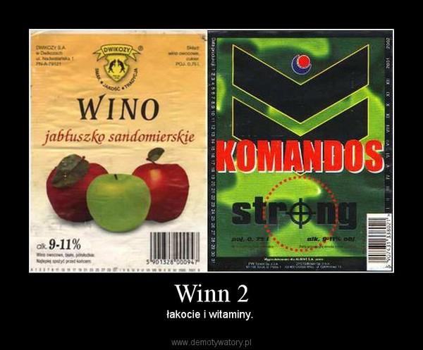 Winn 2 – łakocie i witaminy.
