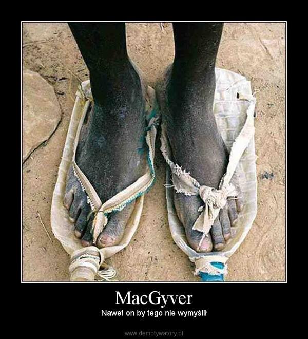 MacGyver – Nawet on by tego nie wymyślił