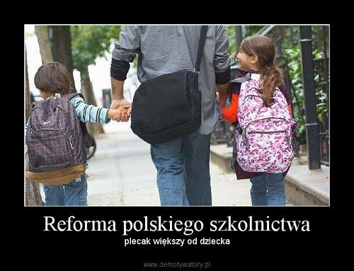 Reforma polskiego szkolnictwa