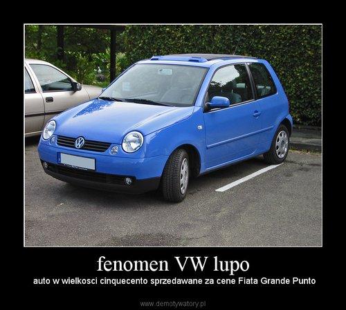 fenomen VW lupo