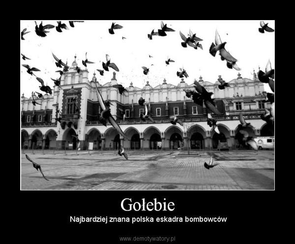 Gołebie –  Najbardziej znana polska eskadra bombowców