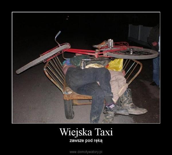 Wiejska Taxi – zawsze pod ręką