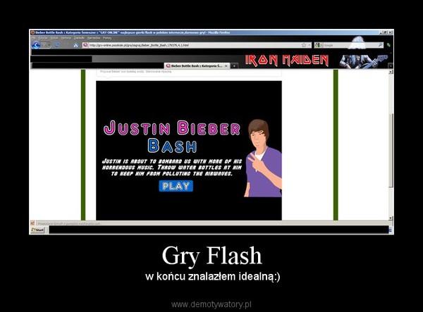 Gry Flash –  w końcu znalazłem idealną:)
