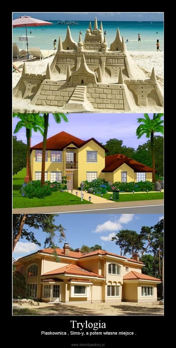Trylogia – Piaskownica , Sims-y, a potem własne miejsce .
