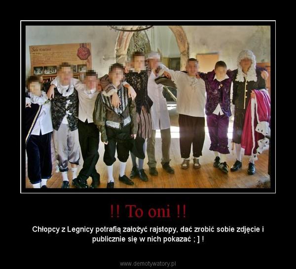 !! To oni !! – Chłopcy z Legnicy potrafią założyć rajstopy, dać zrobić sobie zdjęcie i publicznie się w nich pokazać ; ] !