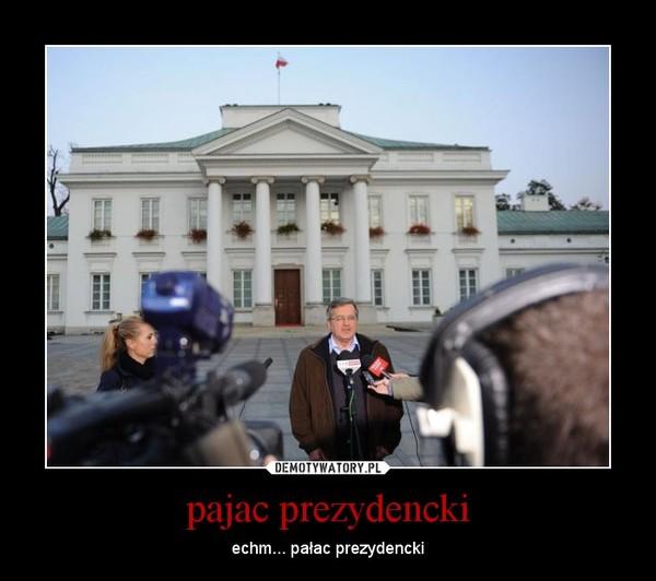 pajac prezydencki – echm... pałac prezydencki