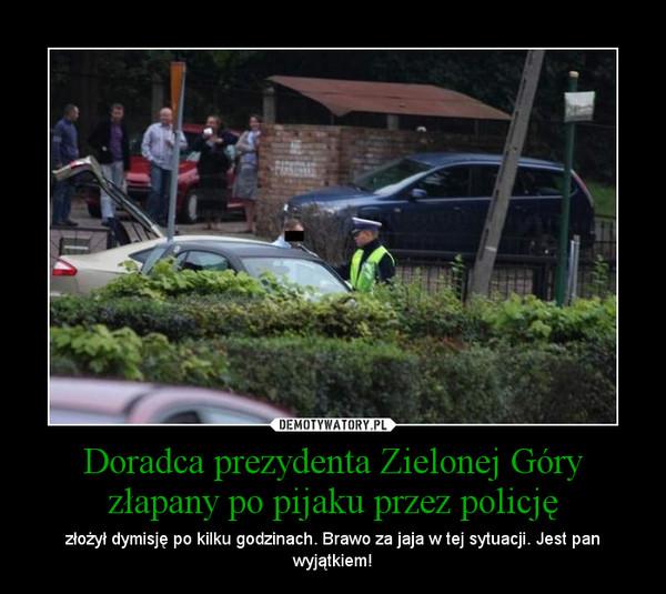 Doradca prezydenta Zielonej Góry złapany po pijaku przez policję – złożył dymisję po kilku godzinach. Brawo za jaja w tej sytuacji. Jest pan wyjątkiem!