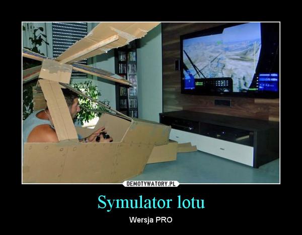 Symulator lotu – Wersja PRO
