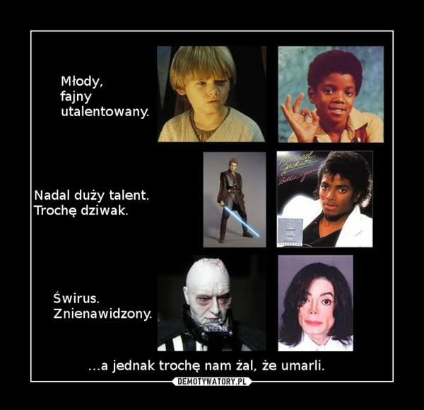 Michael Jackson i Luke Skywalker –