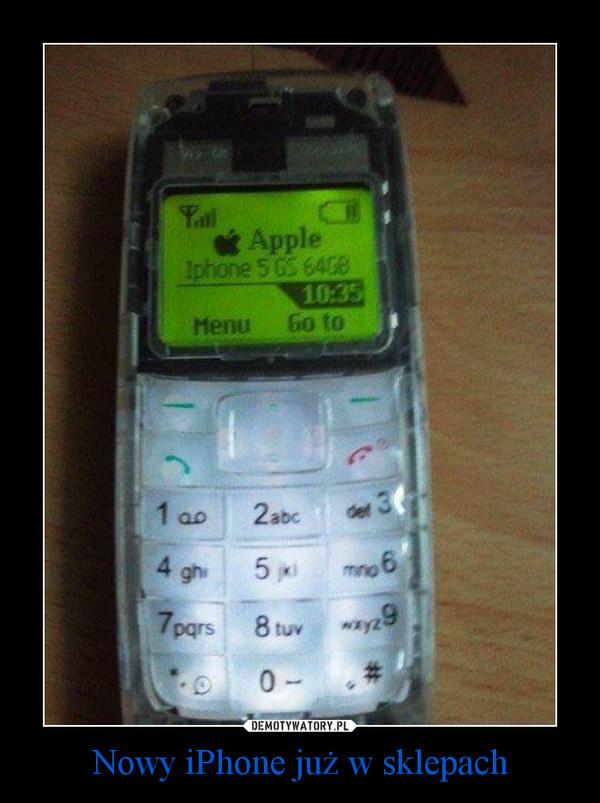 Nowy iPhone już w sklepach –
