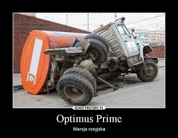 Optimus Prime – Wersja rosyjska