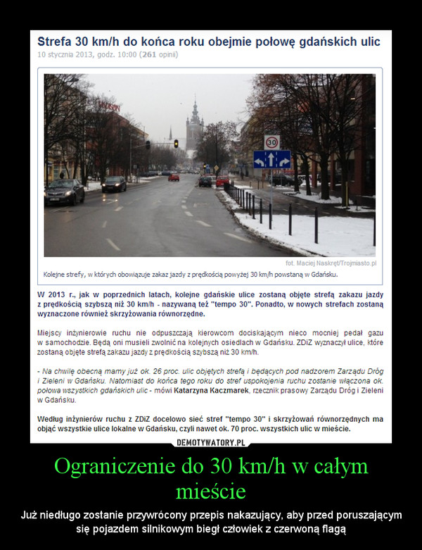 Ograniczenie do 30 km/h w całym mieście – Już niedługo zostanie przywrócony przepis nakazujący, aby przed poruszającym się pojazdem silnikowym biegł człowiek z czerwoną flagą