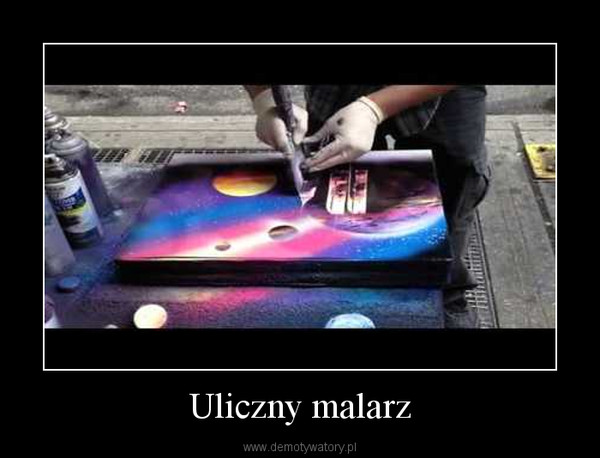 Uliczny malarz –