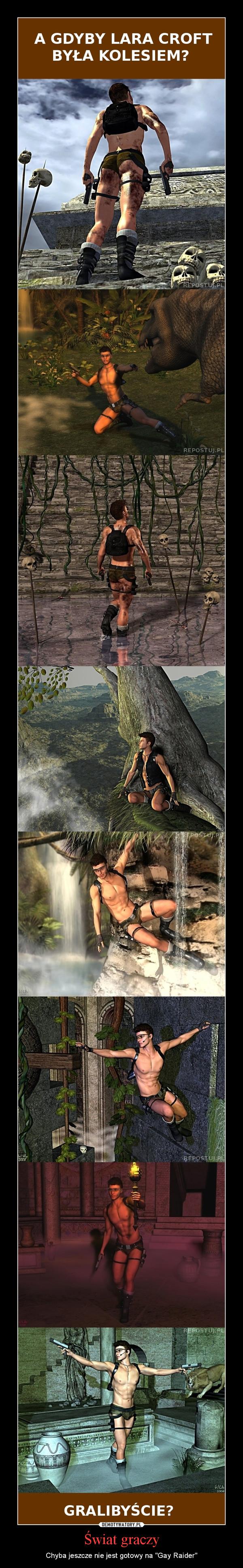 """Świat graczy – Chyba jeszcze nie jest gotowy na """"Gay Raider"""""""