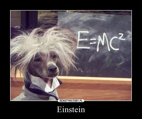 Einstein –