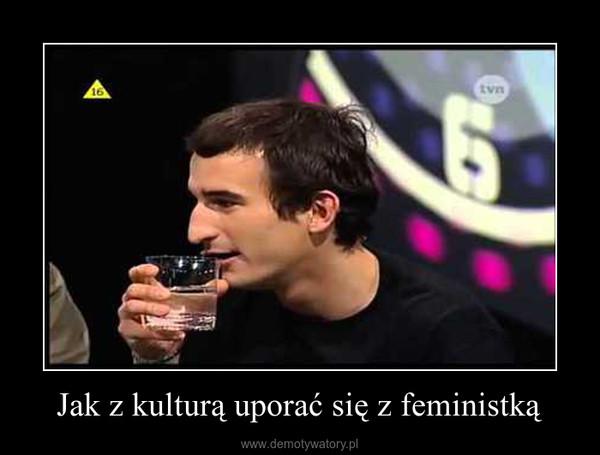 Jak z kulturą uporać się z feministką –