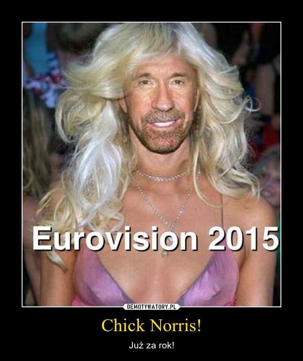 Chick Norris! – Już za rok!