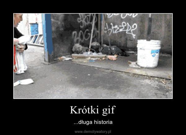 Krótki gif – ...długa historia