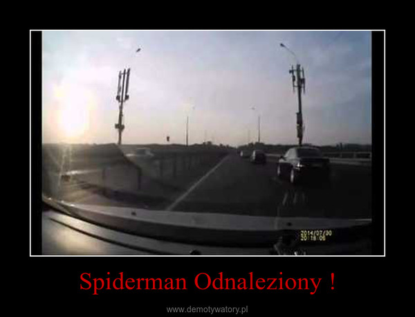 Spiderman Odnaleziony ! –