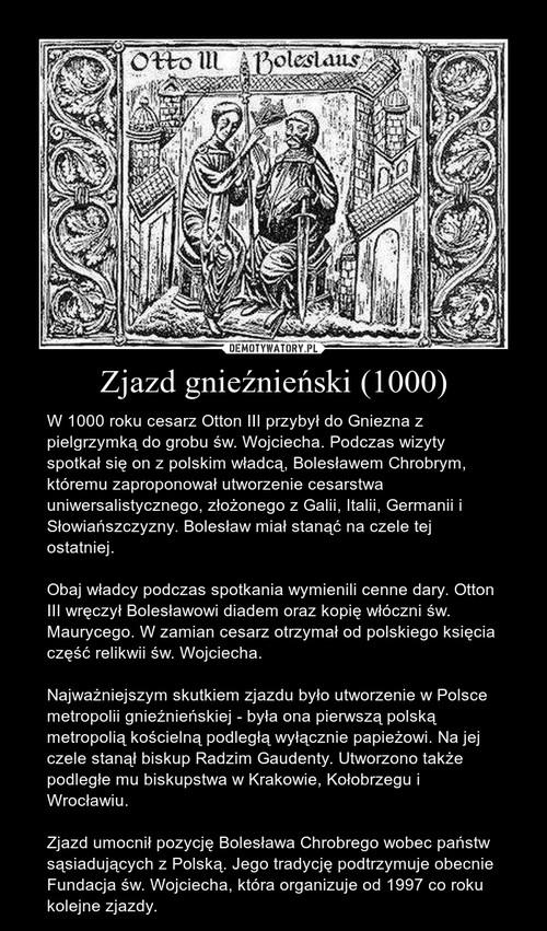 Zjazd gnieźnieński (1000)