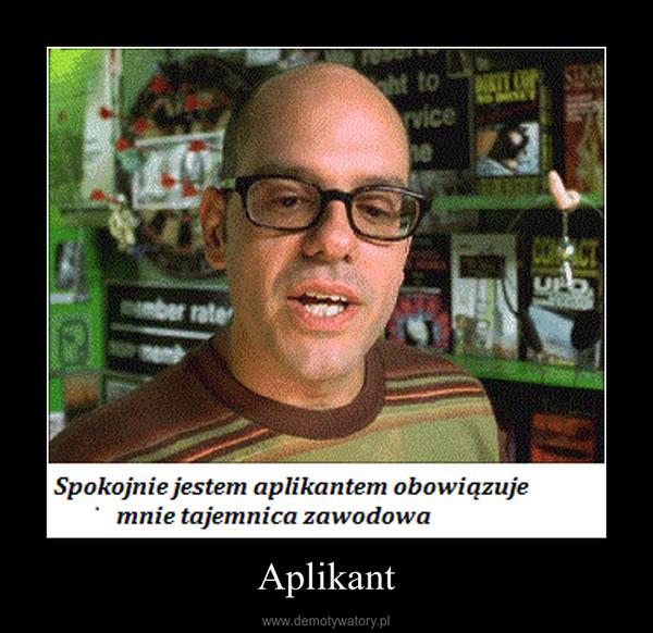 Aplikant –