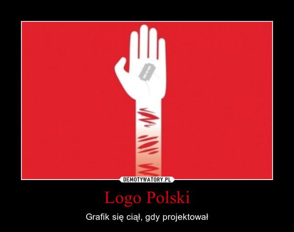Logo Polski – Grafik się ciął, gdy projektował