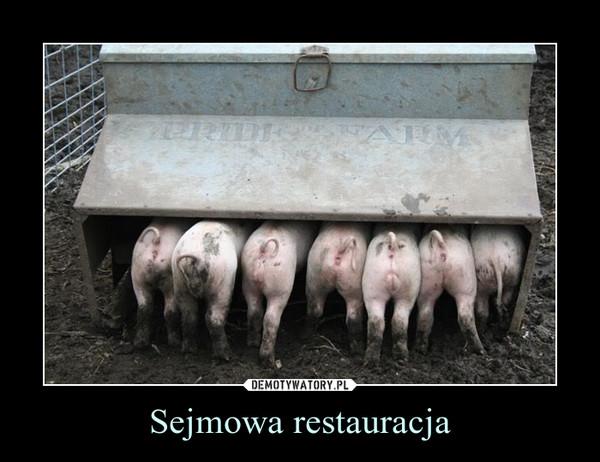 Sejmowa restauracja –