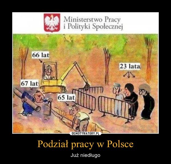 Podział pracy w Polsce – Już niedługo