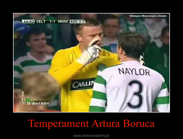 Temperament Artura Boruca –