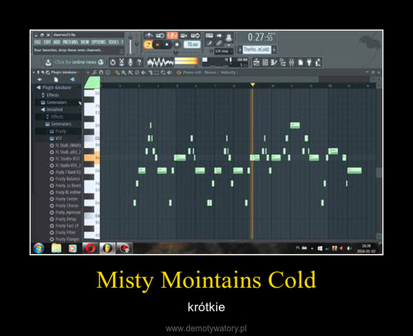 Misty Mointains Cold – krótkie