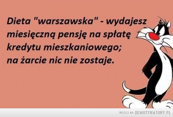 Dieta warszawska –