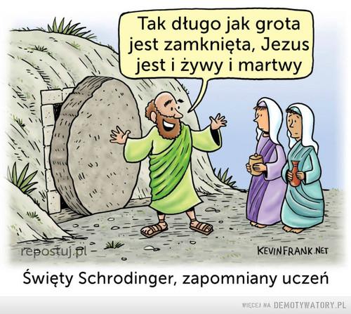 Jezus Schrodingera