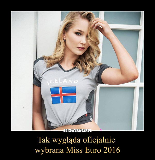 Tak wygląda oficjalnie wybrana Miss Euro 2016 –
