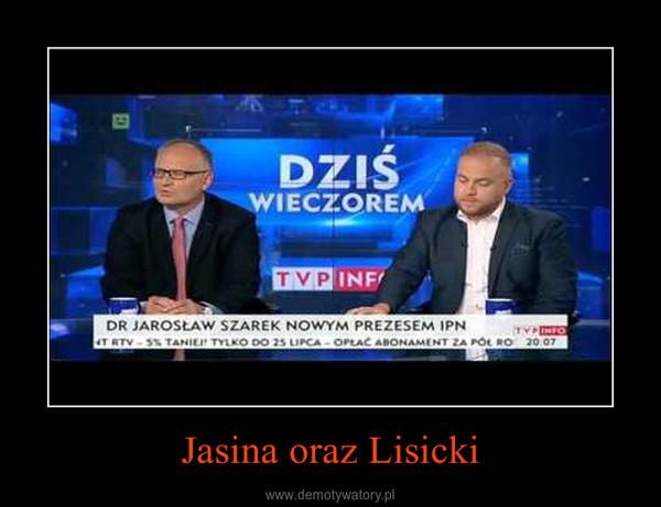 Jasina oraz Lisicki –