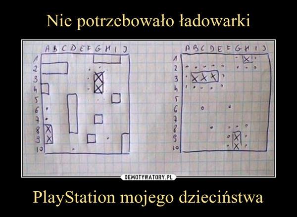 PlayStation mojego dzieciństwa –