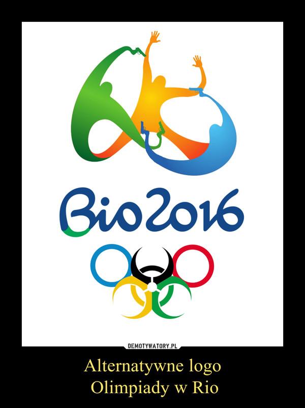 Alternatywne logo Olimpiady w Rio –