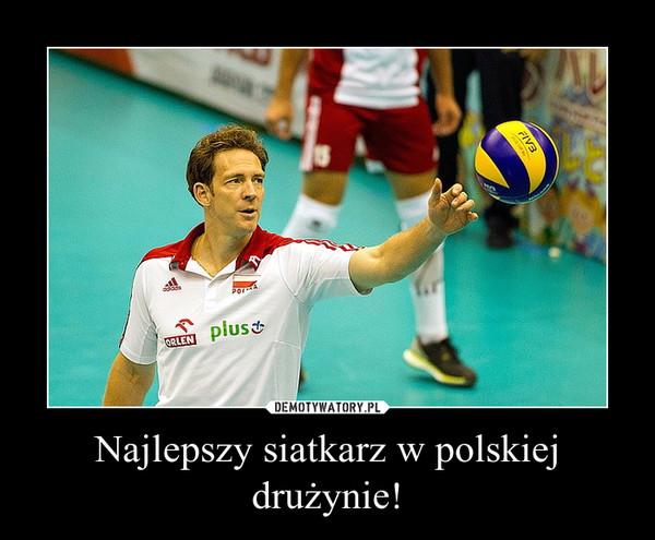 Najlepszy siatkarz w polskiej drużynie! –