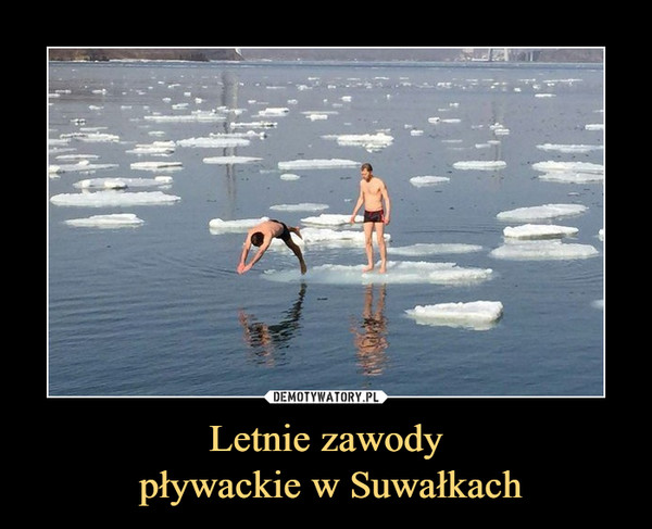 Letnie zawody pływackie w Suwałkach –