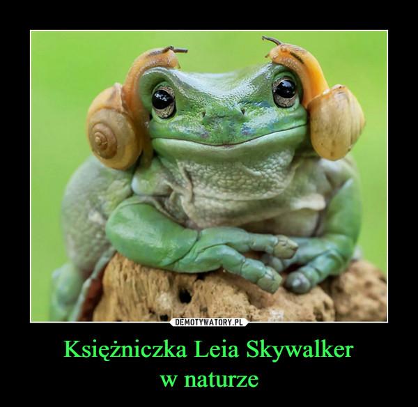 Księżniczka Leia Skywalkerw naturze –