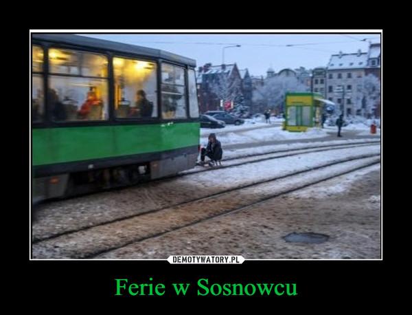 Ferie w Sosnowcu –