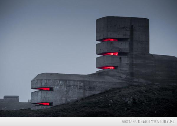 Wieża obserwacyjna, Pleinmont - Guernsey, Francja, 1942-1945 –