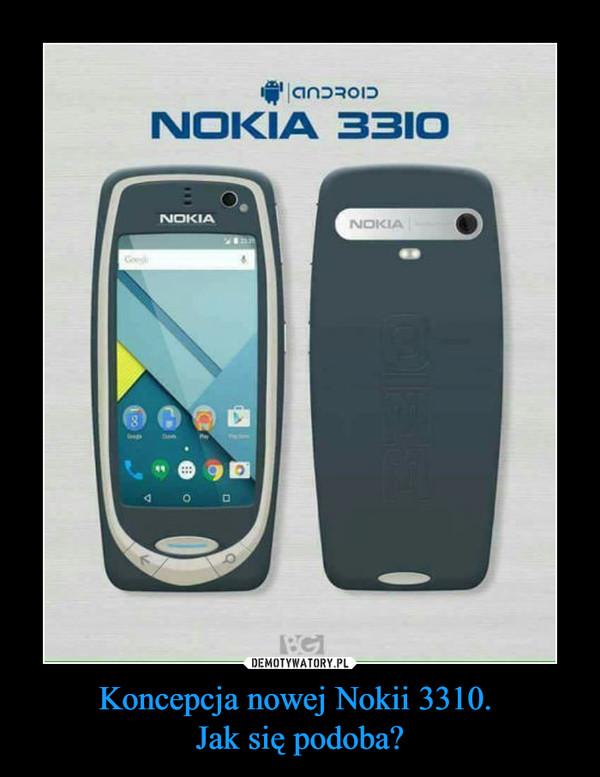 Koncepcja nowej Nokii 3310. Jak się podoba? –  NOKIA 3310