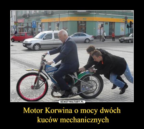 Motor Korwina o mocy dwóch kuców mechanicznych –