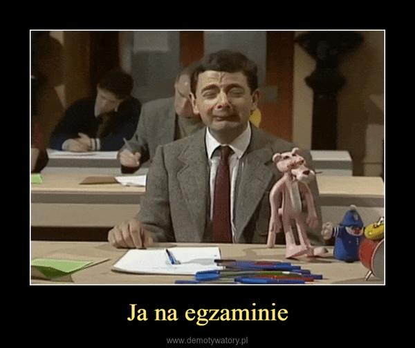 Ja na egzaminie –