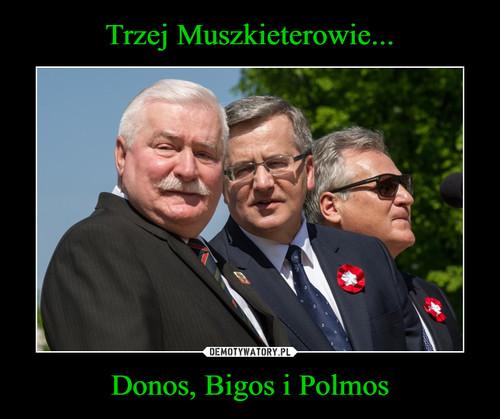Trzej Muszkieterowie... Donos, Bigos i Polmos