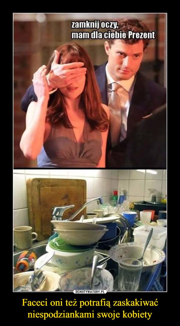 Faceci oni też potrafią zaskakiwać niespodziankami swoje kobiety –