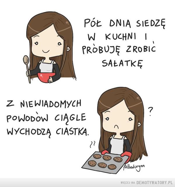 Kobiece problemy: –