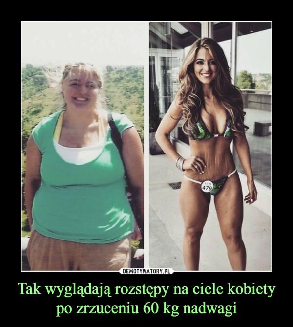Tak wyglądają rozstępy na ciele kobiety po zrzuceniu 60 kg nadwagi –