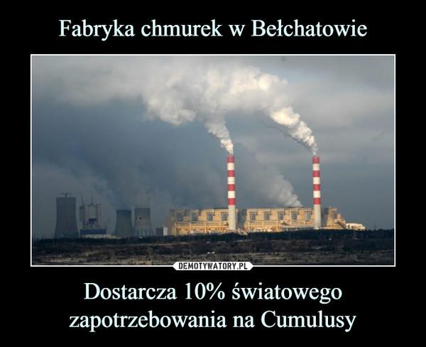 Fabryka chmurek w Bełchatowie Dostarcza 10% światowego zapotrzebowania na Cumulusy